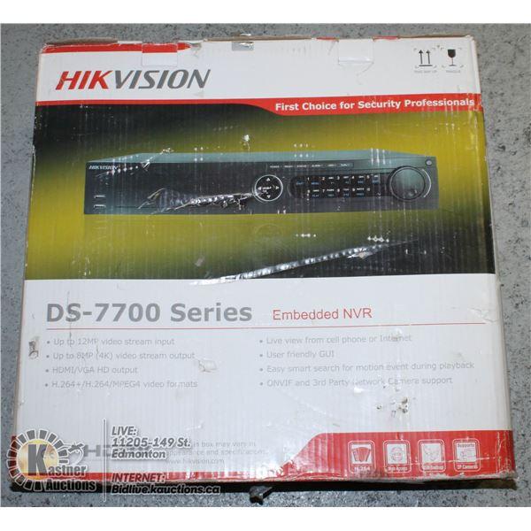HIK VISION DS-7700 SERIES EMBEDED NVR