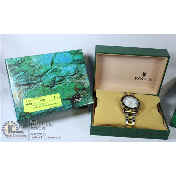 """NEW ROLEX REPLICA """"SUBMARINER"""" WITH INNER AND"""