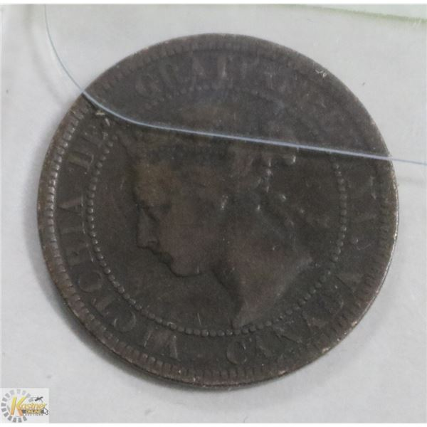 1900 CANADIAN LARGE PENNY