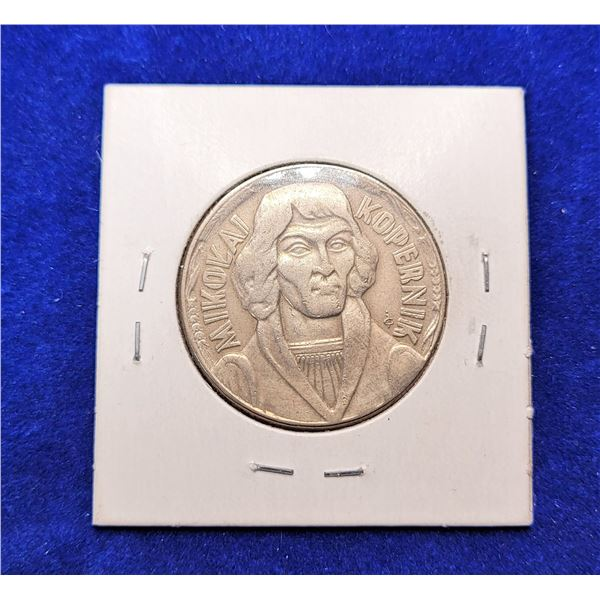 1) FROM POLAND 10 ZLOTYCH 1959  COIN AND