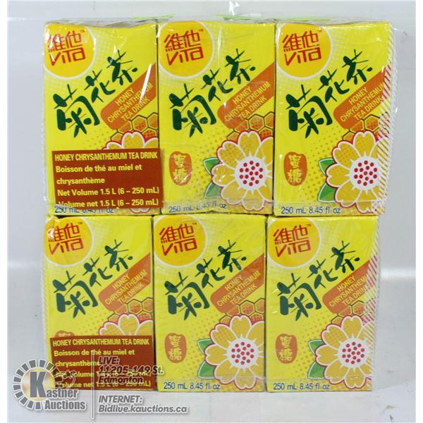 HONEY CHRYSANTHEMUN TEA DRINK 12 PACK