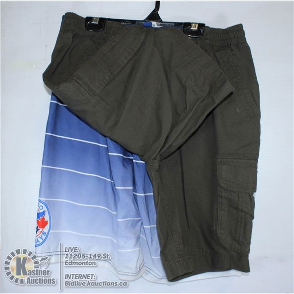 2 PAIRS OF SHORTS SIZE SMALL