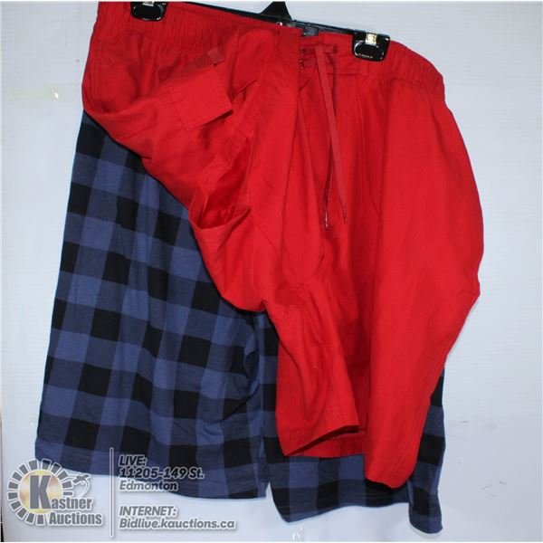 2 PAIRS OF SHORTS SIZE XL