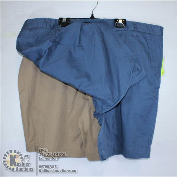 2 PAIRS OF SHORTS SIZE 42