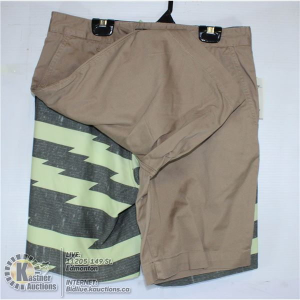 2 PAIRS OF SHORTS SIZE 30