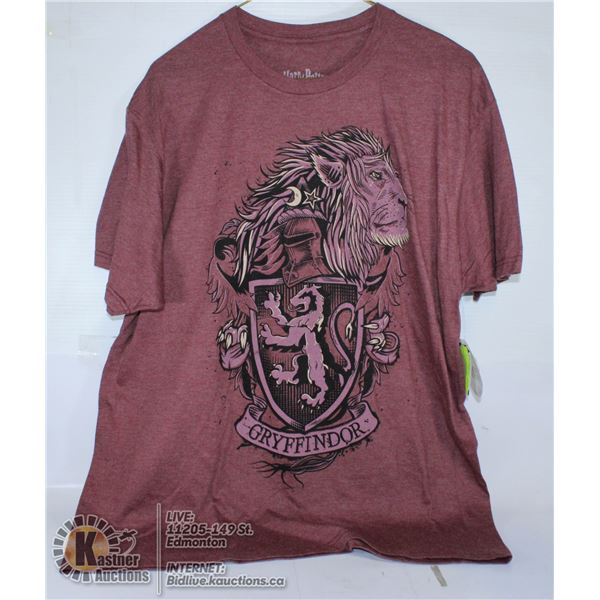 RED T-SHIRT HARRY POTTER SIZE L