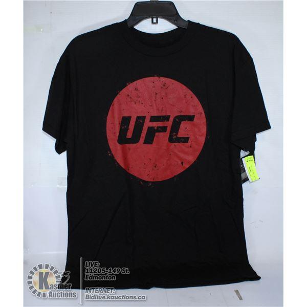 BLACK T-SHIRT UFC SIZE M