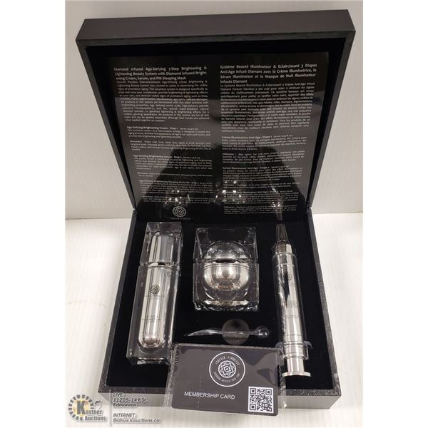 FOREVER FLAWLESS MSRP $795  DIAMOND INFUSED AGE
