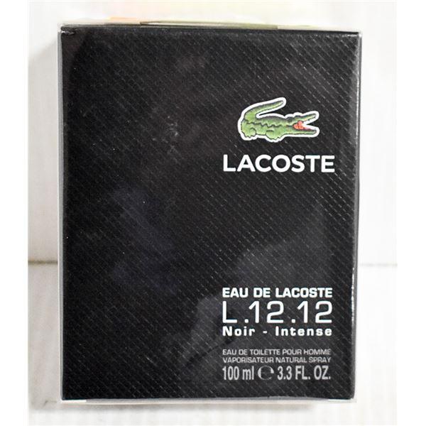 LACOSTE L.12.12 NOIR INTENSE EAU DE TOILETTE 100ML