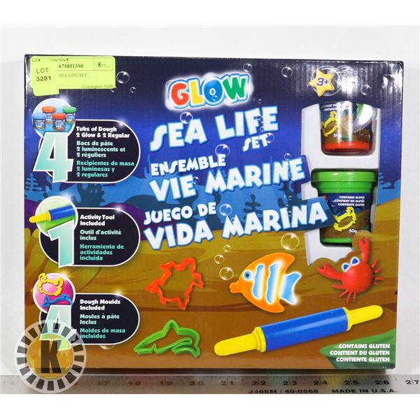 NEW GLOW SEA LIFE SET