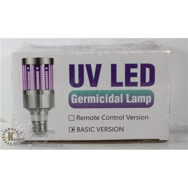 UV L.E.D. GERMICIDAL LAMP NEW IN BOX