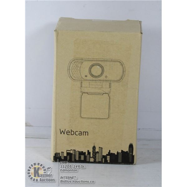 WEBCAM W/ MICROPHONE AND DESKTOP TRIPOD