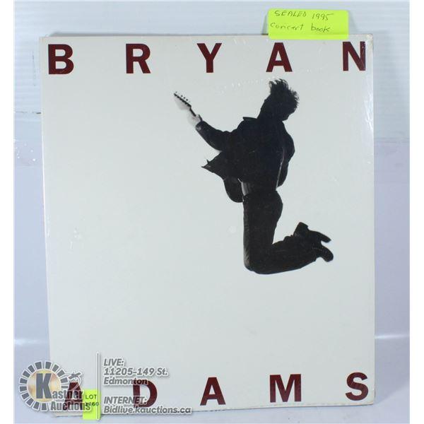 SEALED 1995 BRYAN ADAMS CONCERT BOOK.