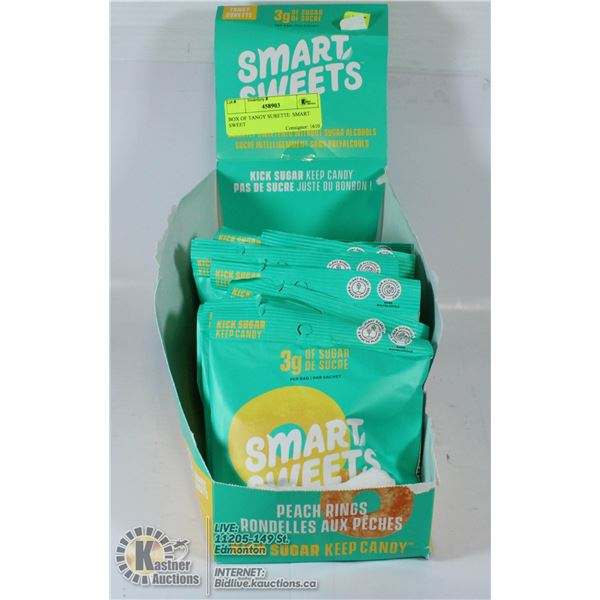 BOX OF TANGY SURETTE  SMART SWEET