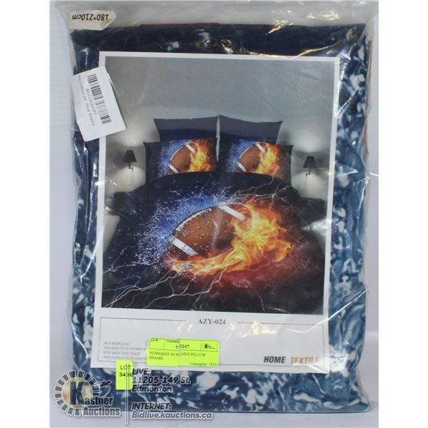 HOMEBED 3D SET AND PILLOW SHAMS