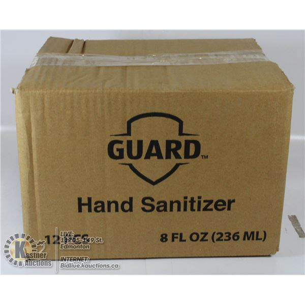 GUARD HAND SANITIZER 236ML CASE OF 12
