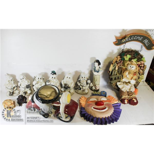 SNOW WHITE AND DWARVES GARDEN DCOR, SOLD WITH