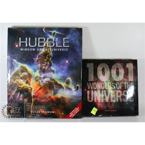 LOT OF 2 HARDCOVER WONDERS OF THE UNIVERSE AND