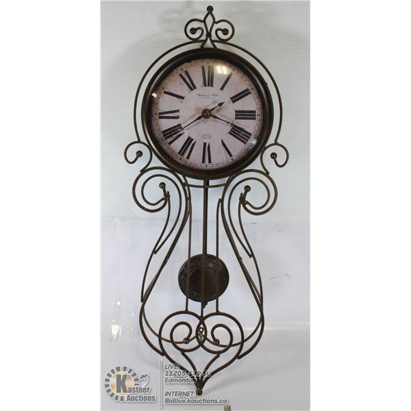 STERLING & NOBLE PENDULUM CLOCK