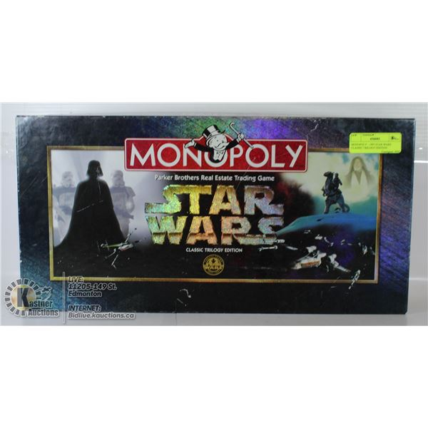 MONOPOLY - 1997 STAR WARS CLASSIC TRILOGY EDITION