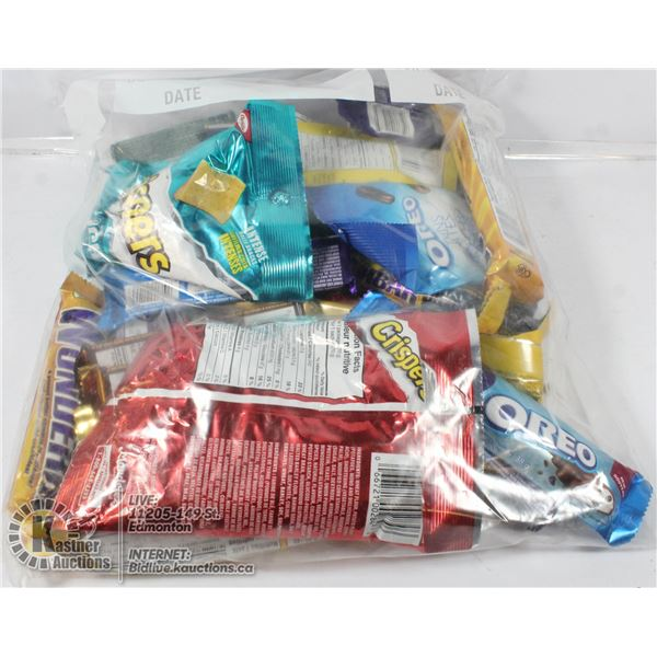 24 ASSORTED CHOCOLATE., CANDY AND MORE