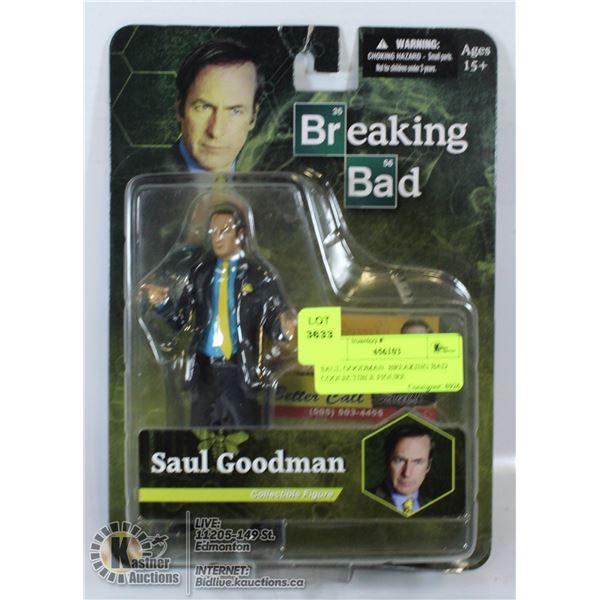 SAUL GOODMAN  BREAKING BAD COOLECTIBLE FIGURE