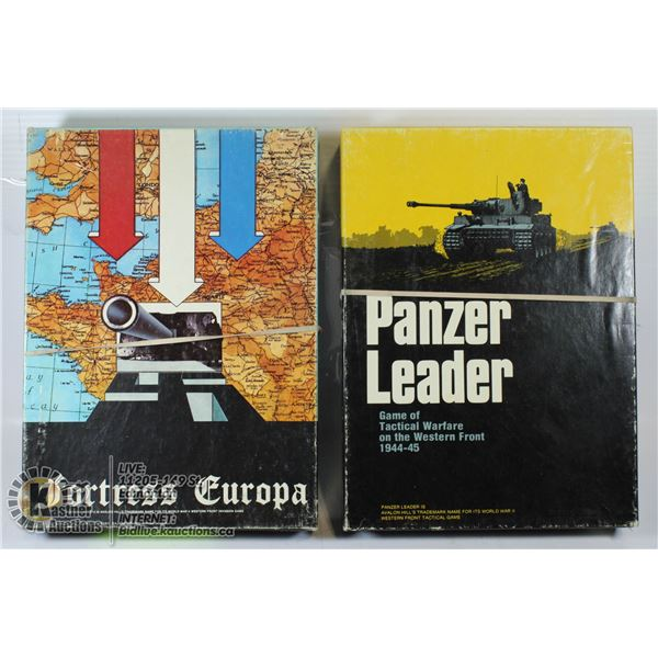 2 COLLECTIBLE WWII TACTICAL WAR GAMES