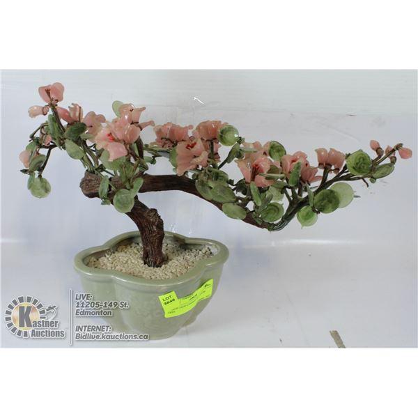 LARGE JADE CHERRY BLOSSOM TREE