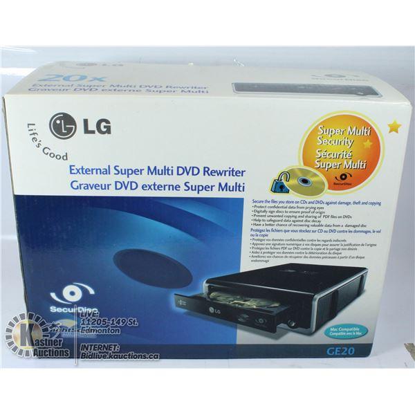 EXTERNAL SUPER MULTI DVD REWRITER