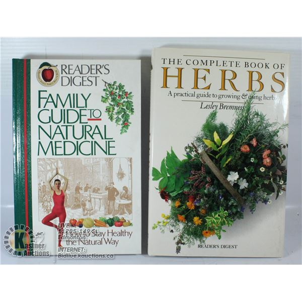 READERS DIGEST FAMILY GUIDE TO NATURAL MEDICINE