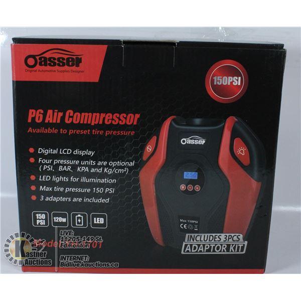 OASSER P6 AIR COMPRESSOR 150PSI MODEL YH-1701