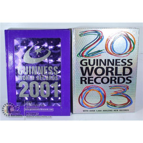 GUINNESS WORLD RECORDS 2001 & 2003