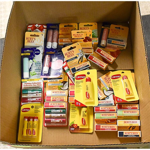 FLAT LOT OF BRAND NAME LIP CARE