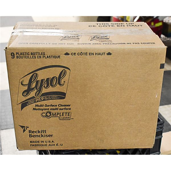 CASE OF LYSOL MULTI-SURFACE CLEANER