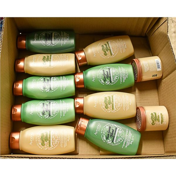 FLAT LOT OF AVEENO HAIR CARE PRODUCTS