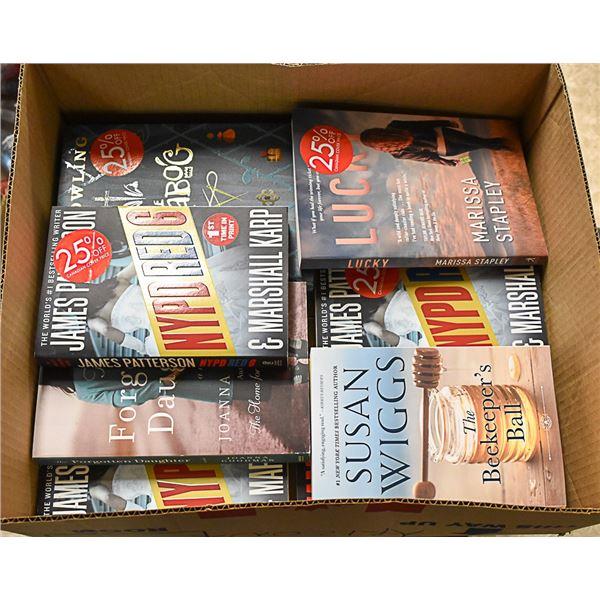 FLAT LOT OF DRUGSTORE CLOSURE BOOKS