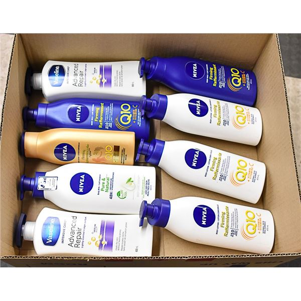 FLAT LOT OF BRAND NAME SKIN CARE