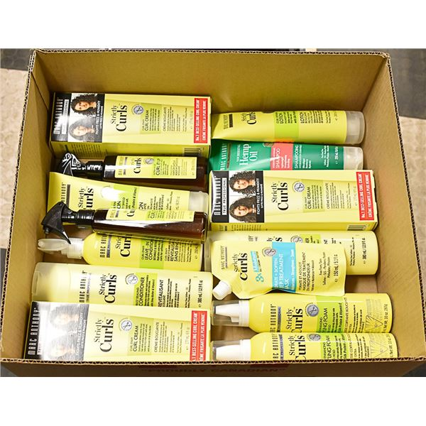 FLAT LOT OF MARC ANTHONY HAIR PRODUCTS