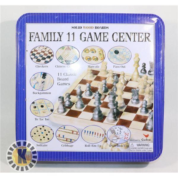 FAMILY 11 GAME CENTER