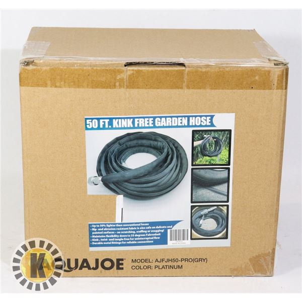 NEW 50' KINK FREE WATER HOSE