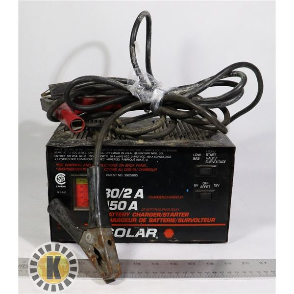 BATTERY CHARGER(30/2 A)/ STARTER(150A)