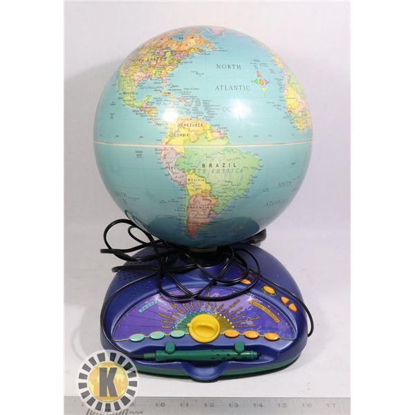 QUANTUM LEAP ELECTRIC WORLD MAP/GLOBE