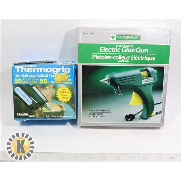 BOSTIK THERMOGRIP & MASTERCRAFT ELECTRIC GLUE GUN
