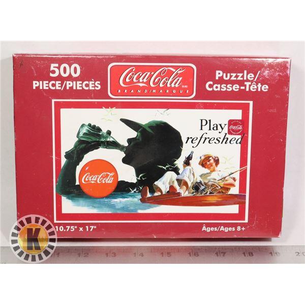 NEW COCA COLA 500PC PUZZLE
