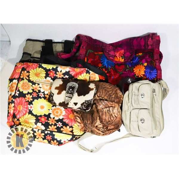 ESTATE BUNDLE OF ASSORTED PURSES AND BAGS