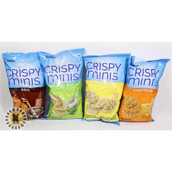BAG OF ASSORTED CRISP MINIS CHIPS