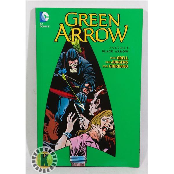 NEW DC COMICS GREEN ARROW VOLUME 5 BLACK ARROW