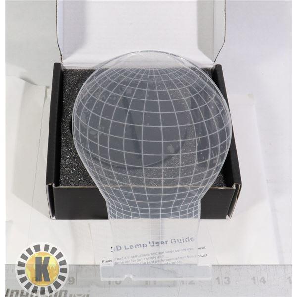 3D LAMP- BULB DESIGN