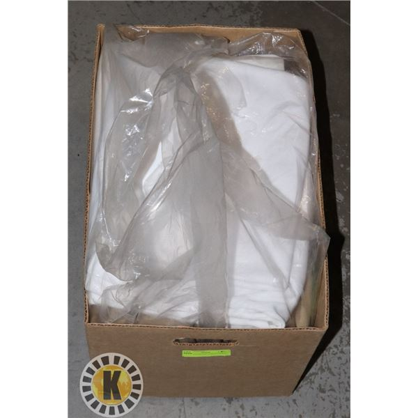 BOX OF ASSORTED  LARGE FABRICS