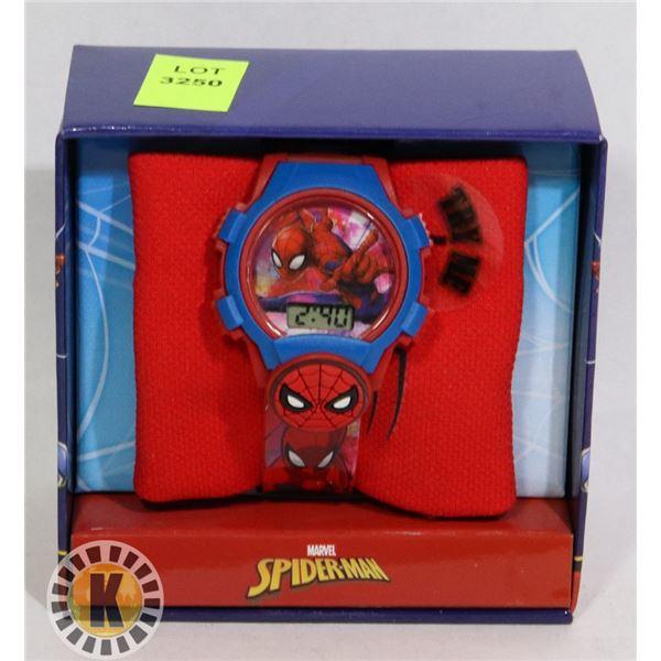 SPIDER-MAN THEMED KIDS WATCH